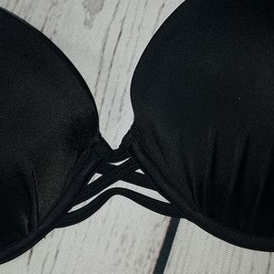Shade & Shore Swim - SHADE & SHORE black padded bikini top bra